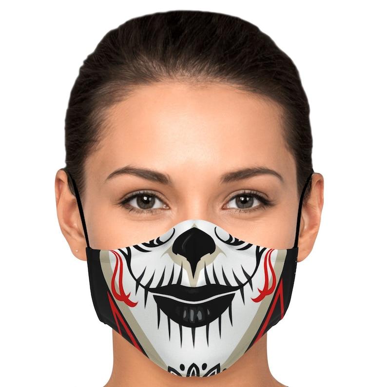 Sugar Skull Calaveras Make Up Face Mask / Covering image 0