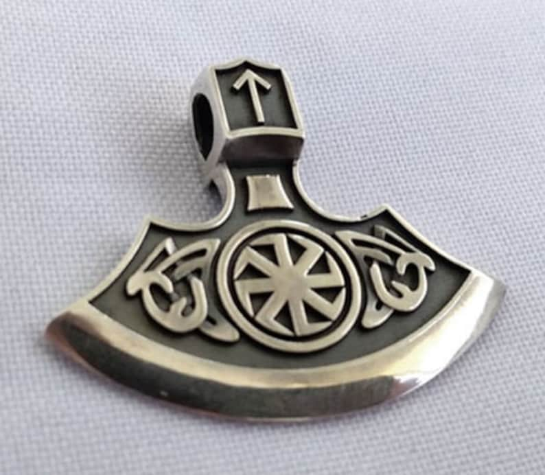 Pendant Viking/'s Axe Runes
