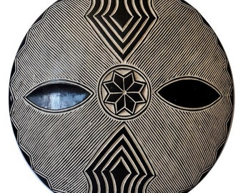 African shield | Etsy
