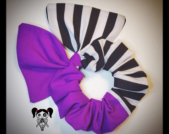 Tim Burton Beetlejuice Hair Bow