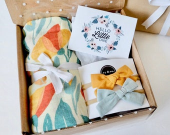 New Parents Gift Baby Boy Gift Box Personalized Baby Gift Baby Shower Gift Boy