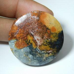 26 X 25 Quality Maligano jasper Gemstone  cabochon loose stone Top stone  jewelry making stone  45 Ct mm # 189 AAA++