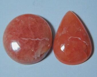 Rhodochrosite Gemstone Loose Rhodochrosite Stone, Top Quality Rhodochrosite Cabochon Gemstones Rhodochrosite Rhodochrosite Jewelry