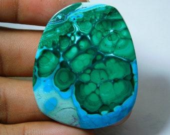 32.70 Cts Flint Fancy Shape 46 X 18 X 5 mm Cabochon Loose Gemstone  LS14017