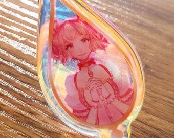 Tokyo Mew Mew Desserts Rainbow Acrylic Charm Keychain 2.5in