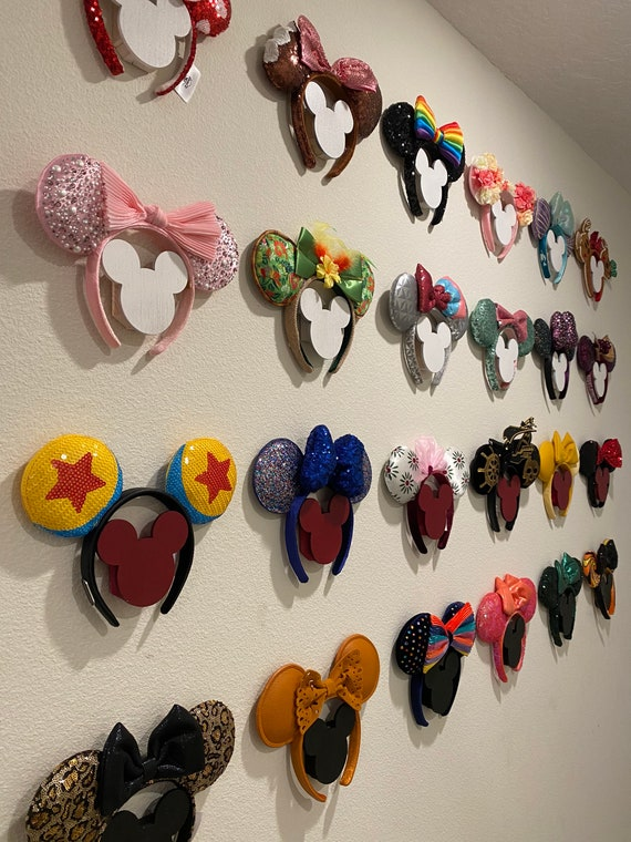 Wall Display for Minnie Ears Headbands , Ear collection Display