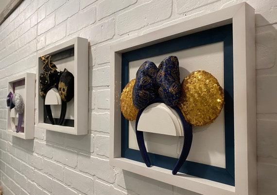 Disney Ear  Frame, Disney Minnie Headband Display, Layered wood frame