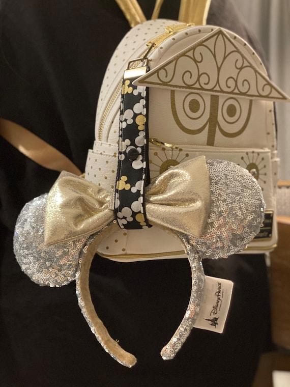 Ear Saver Key fob , Minnie Ear Headband keeper, Ear holder for backpack