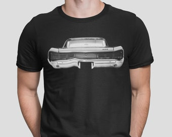 Size Small-5XL Retro PONTIAC GTO American Muscle 1968 Men/'s Classic Fit Shirt