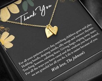 Daycare Teacher Gift, Babysitter Gift, Nanny Gift, Preschool Teacher Gift, Gift for Babysitter, Gift for Caregiver, Thank You Gift