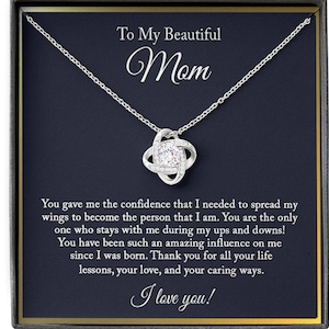 Mom Birthday Gift From Daughter Gift For Mom Necklace For Mom To My Wonderful Mom /'For All The../' Necklace Gift for Mom from Son
