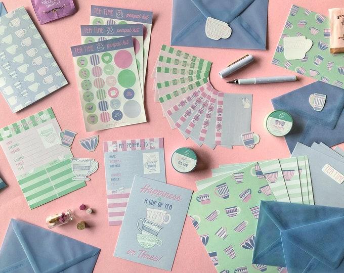 Featured listing image: TEA TIME penpal kit