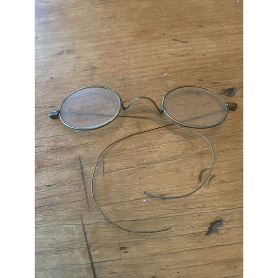 Early Circular Spectacles Glasses Round John Lenno