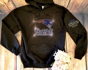 pretty nice d8733 378ee Patriots hoodie | Etsy