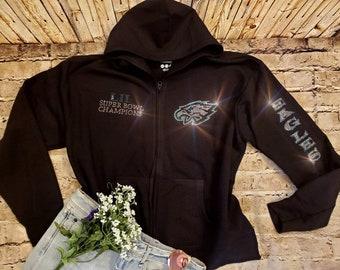 official photos 1ea37 32647 Eagles sweatshirt | Etsy