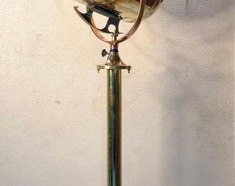 Original Antique American Ship Perko Nautical Brass Signal Spot Light Miami USA
