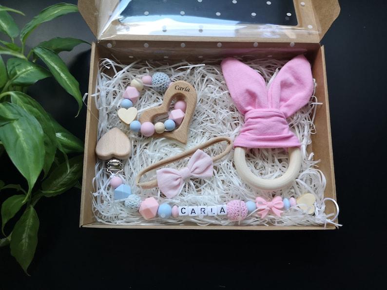 Baby Girl Box Set Baby Gift Box Welcome Baby Gift Newborn image 0