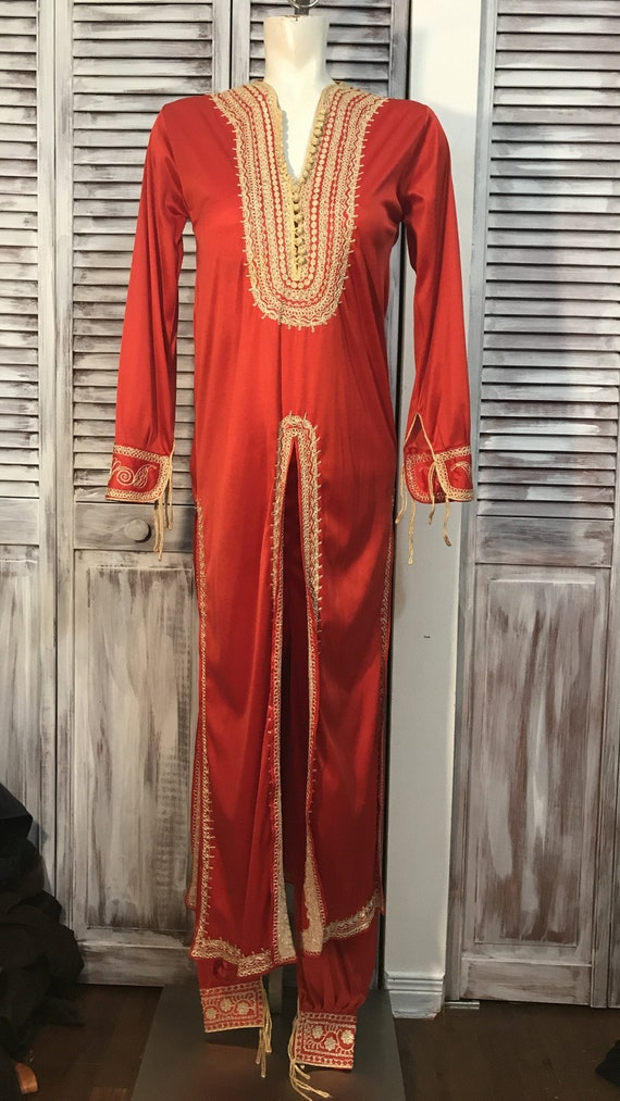 Traditional vintage costume