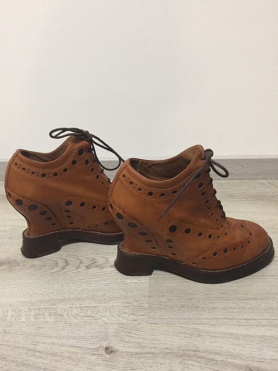 Acne Studios fall/winter 2011 oxford brogue shoes