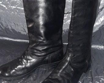 Sovjet Lederen Chrome laarzen voor Russische officieren USSR