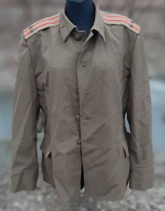 Soviet military uniform lieutenant colonel USSR ar