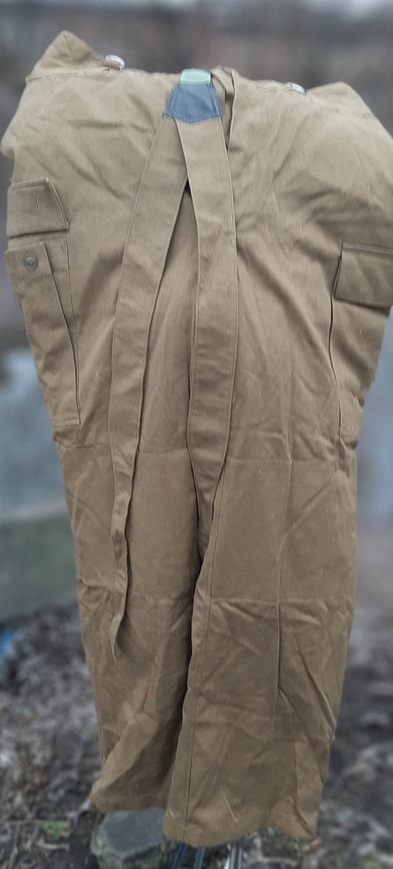 Military winter pants Soviet army USSR Afghan