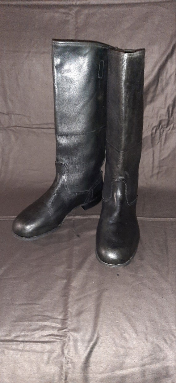 Military officer boots Red Army USSR Yuft boots