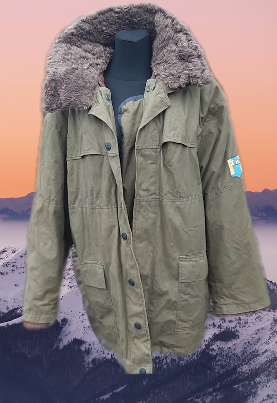 Soviet winter jacket USSR special forces