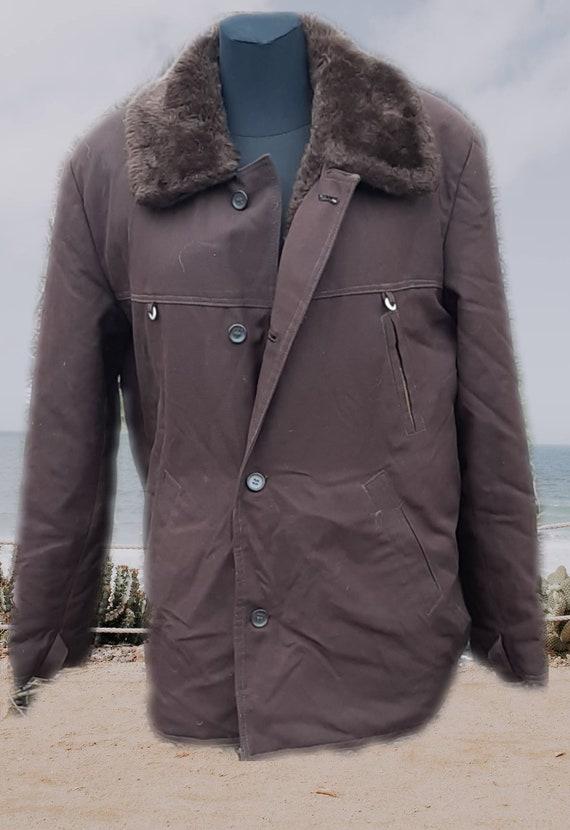 Vintage Soviet winter jacket USSR