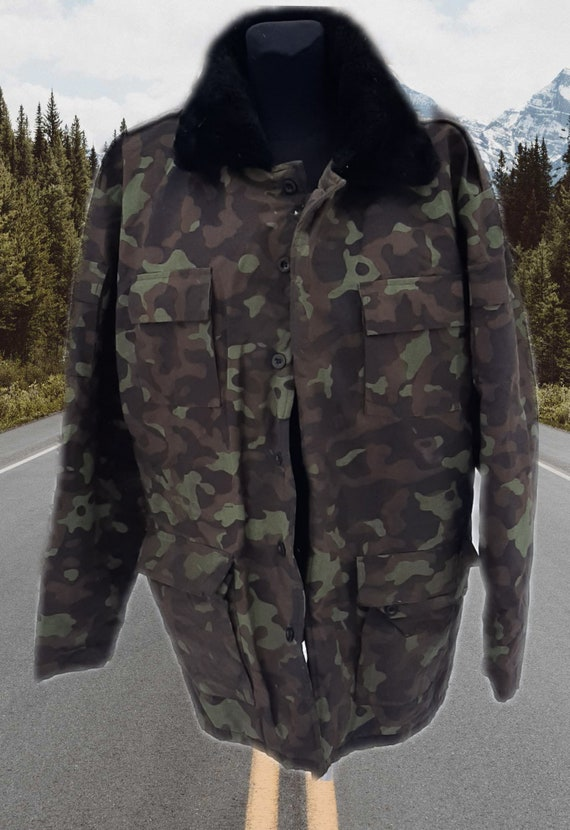 Russian military camouflage jacket