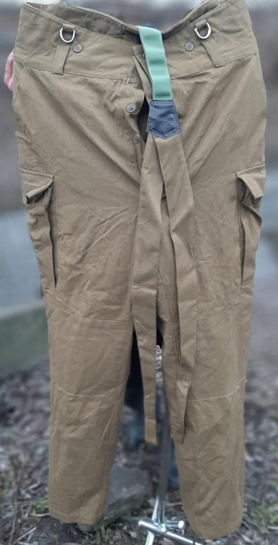 Military winter pants Afghan woman Soviet army USS