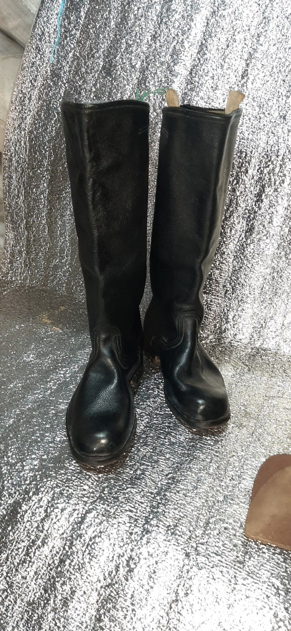 Military yuft officer boots USSR