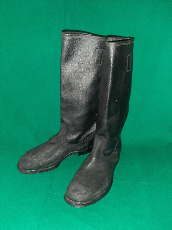 Soviet soldier Kersey boots Russian Military boots