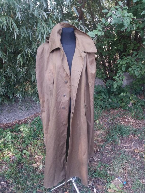 Officer Raincoat Cloak USSR