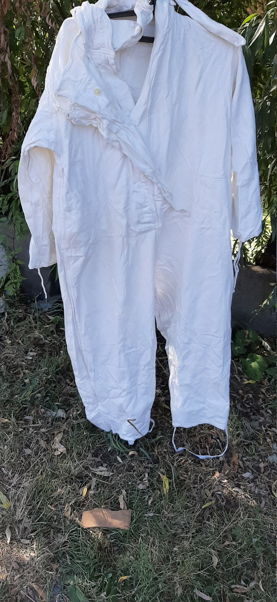 Military Overalls White Camouflage Suit For Soviet