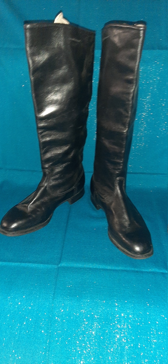 Military chrome boots  Soviet army USSR