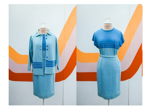 1960s Puccini Wool Skirt Suit Set