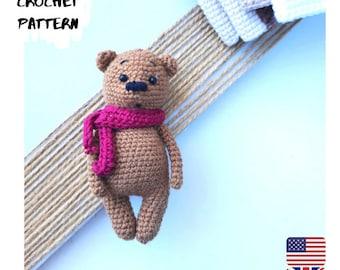 Teddy bear Amigurumi easy crochet pattern PDFzoomigurumi cute forest bear easy tutorial with easter bunny hair