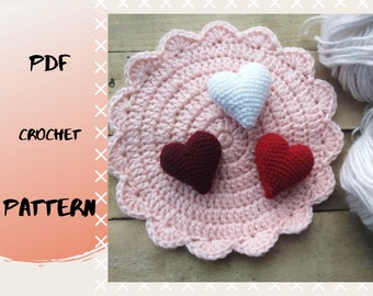 10 Crochet Heart Patterns for Valentine's Day   270x340