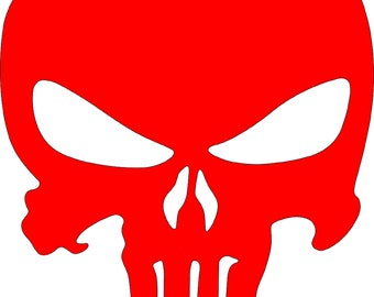 Punisher skull  svg dxf plasma cut file cricket ai pdf skull plasma cut file punisher dxf file punisher skull svg cut fille