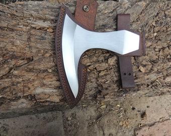 "Axe Head Hatchet 5.25/"" Long Arc Edge 1.3 Lbs Garden Tool"