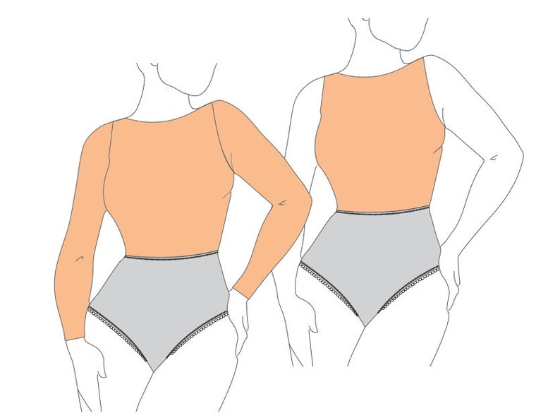 Belen Bodysuit PDF Sewing Pattern