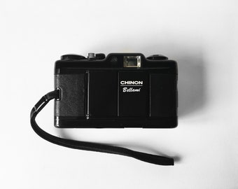 CHINNON BELLAMI — ultra-compact & pocketable vintage 35mm film camera, made in Japan (film tested, working)