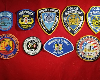 MENANDS NEW YORK NY POLICE PATCH