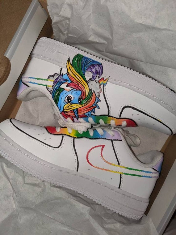 air force 1 femme licorne