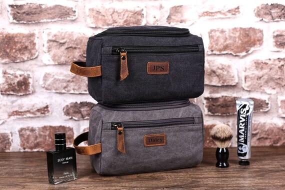 Groomsmen Gift, Groomsman Gift, Personalized Toiletry Bag, Gift For Men, Dopp Kit, Travel Shaving Kit, Boyfriend Gift, Wedding Proposal by Etsy