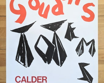 Original Calder Poster Gouaches 1966
