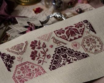 Summer is coming.Mini Quaker PDF DIGITAL/StitchesThroughTheYears/Cross stitch pattern