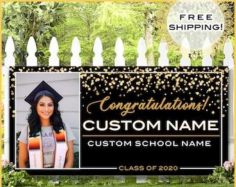 Congratulations 2020 Graduation Banners Outdoor Use!