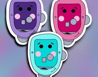 Pump Change vinyl decal- Diabetes- Layla Blossoms- StickersandMorebyLB/ StickersandMorebyLB/ Layla Blossoms/vinyl sticker